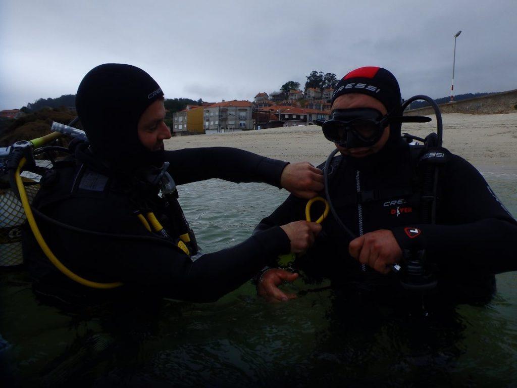 Cursos de buceo PADI en Galicia