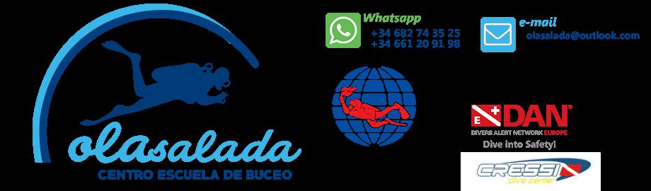 Centro de buceo en Galicia Ola Salada