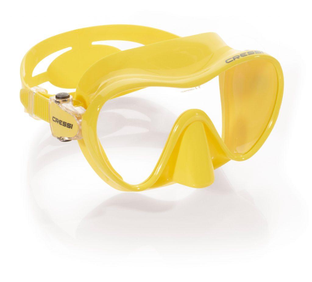 Llévate Gratis una Máscara CRESSI F1 de buceo con tu PADI Open Water Diver
