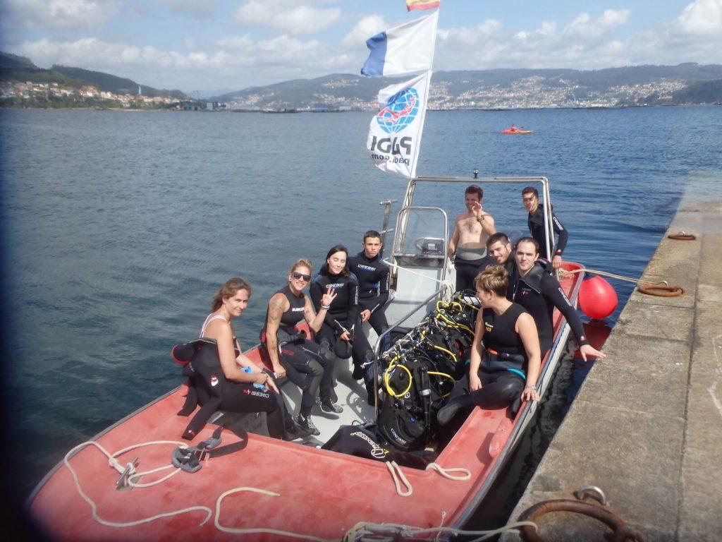 Centro de buceo en Pontevedra - OlaSalada
