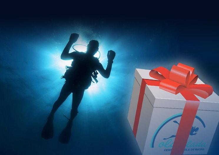Tarjetas regalo de buceo